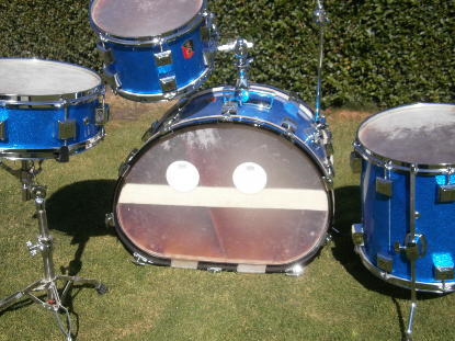Double Bass Drum - Separate Chambers