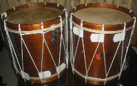 Hand Made Rope Tension Drums